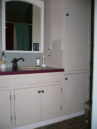 Bathroom Vanities With Matching Linen Cabinets Adorable Linen Closet For Bathroom With Additional Bathroom Vanity