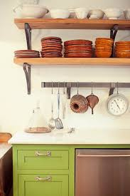 kitchen exquisite rustic open kitchen shelves floating for