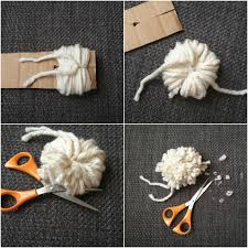 another easy and quick way of pom pom making with just a peace of