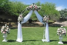 wedding arch garden 5 fabulous garden wedding arch decoration ideas weddingsxp