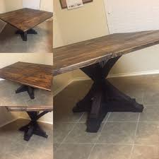Custom Rustic Square Dining Table By Dallas Rustic Custommade Com
