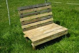 Diy Wooden Garden Bench by Wooden Pallet Outdoor Bench Plans Pallet Wood Projects