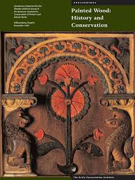 44754066 painted wood history and conservation wood bark