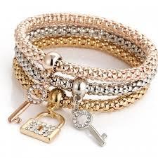 silver gold bracelet bangle images Mistbuy shop designer summer clothing accessories footwear jpg