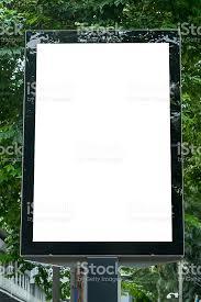 blank billboard template stock photo istock