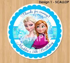 Frozen Invitation Cards Frozen Favor Tag Or Label Disney Frozen Birthday Party Favor