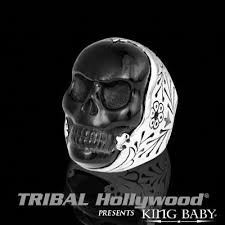 king baby skull jewelry for tribal