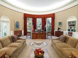 oval office decor clinton oval office donald trump chooses same curtains for oval