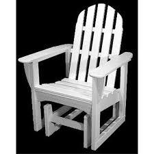 Glider Chair Walmart Polywood U0026reg Classic Recycled Plastic 2 Ft Adirondack Outdoor