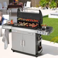 cuisiner avec barbecue a gaz barbecue gaz et plancha de campingaz zendart design