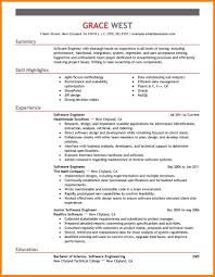 Quality Engineer Sample Resume Back To Post Sample Resume Format For Engineers Click Here To