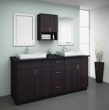 Vancouver Kitchen Cabinets Diy White Marble Bathroom Vanity Design With Wicker Rattan And