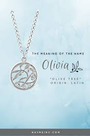 meaning of the name personalized necklace babies and