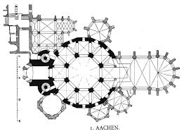 cathedral floorplan aachen pinterest