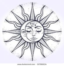 vector images illustrations and cliparts bohemian sun