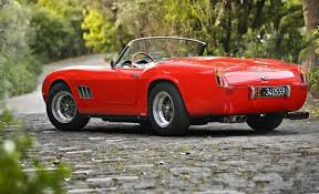 250 gt swb 1961 250gt swb california spider headed to auction