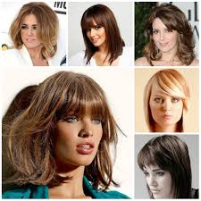 2017 bang hairstyles for medium hair hairstyles pinterest