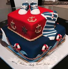 nautical baby shower cakes cake lush by custom made fondant cakes for all occasions in