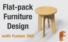 flat pack furniture design
