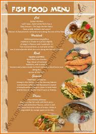free menu design templates fish food menu template png scope of