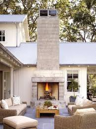 Outdoor Fireplace by On Trend Outdoor Fireplaces U2014 Akin Design Studio
