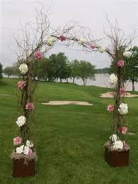 wedding arches made of branches 25 best wedding programs ideas on wedding
