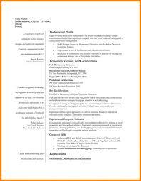 Example Of Teachers Resume by Resume Market Research Resume Resume Teaching Job Sample Cv For