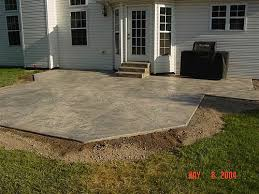 Brushed Concrete Patio Artistic Stamped Concrete Of Rhode Island Atios Stamped Concrete