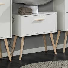 design waschbeckenunterschrank waschbeckenunterschrank in weiß buche retro design jetzt bestellen