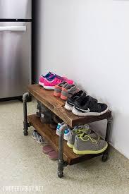 Diy Entryway Shoe Storage Best 25 Diy Shoe Rack Ideas On Pinterest Shoe Rack Diy Shoe