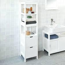tall white bathroom cabinet tall white bathroom storage unit