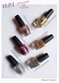 beauté gazette nail week day 4 new o p i collections