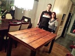 table en bois de cuisine table de cuisine en bois modele de table de cuisine en bois gallery