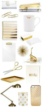 Beautiful Desk Accessories Gold Office Accessories Bright And Beautiful Chicago Fashion