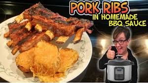 making food monday pressure cooker fall off the bone pork ribs in