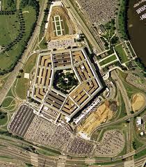pentagon map pentagon wash d c usa with facing triangular pointer