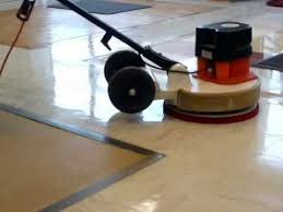 polishing floors the spray method and 3m scotch brite