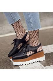 black cut out platform shoes black fishnet and martin boots