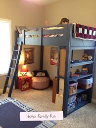 Building A Loft Bed Frame Loft Bed Tolen Family