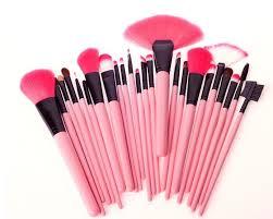 tools for makeup artists 24pcs pink makeup brush set kit cosmetic makeup tools and