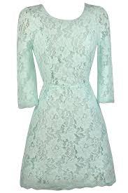 mint lace three quarter sleeve dress cute mint dress mint lace