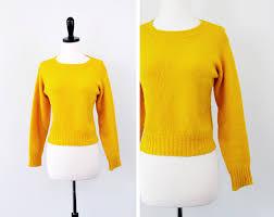 Yellow Mustard Color Mustard Yellow Sweater