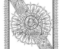 rakhi coloring pages rakhi etsy