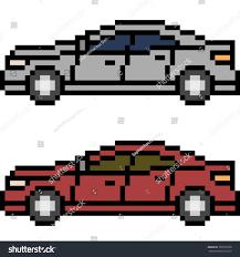 pixel art car vector pixel art car isolated stock vector 700753978 shutterstock