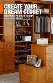 Home Depot Design Your Own Closet Closet Organizer Home Depot
