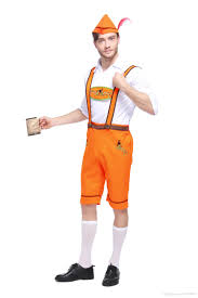mens german beer festival oktoberfest lederhosen hat fancy dress