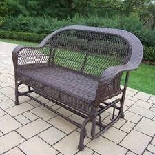 cushionless patio sofas u0026 loveseats you u0027ll love wayfair
