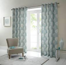 Arabic Curtains Woodland Ready Made Eyelet Curtains In Duck Egg Terrys Fabrics