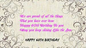 60 things for 60th birthday happy 60th birthday wishes quotes messages for 60 year
