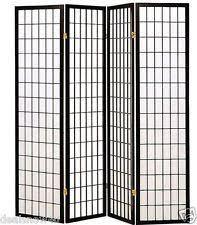 black screens and room dividers ebay